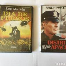 Cine: 2 DVD'S: DISTRITO APACHE Y DÍA DE PERROS (CREATIVE - SOGEMEDIA) NUEVOS. ORIGINALES.. Lote 162452718