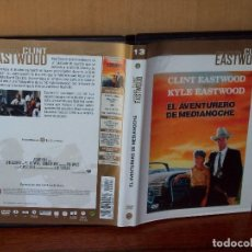 Cine: ELAVENTURERO DE MEDIANOCHE - CLINT EASWOOD - KYLE EASTWOOD - DVD . Lote 162456586