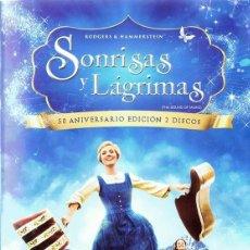 Cine: SONRISAS Y LÁGRIMAS 50 ANIVERSARIO EDICIÓN 2 DISCOS. Lote 162462862