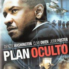 Cine: PLAN OCULTO DENZEL WASHINGTON . Lote 162496874