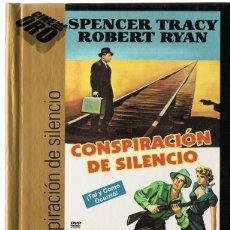 Cine: CONSPIRACIÓN DE SILENCIO SPENCER TRACY ( LIBRO DVD). Lote 162498586