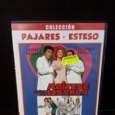 Cine: AGITESE ANTES DE USARLA DVD. Lote 162559556