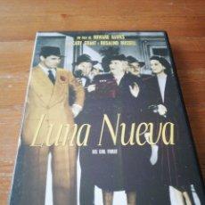 Cine: DVD LUNA NUEVA. HOWARD HAWKS. Lote 162573336