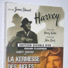 Cine: LOTE 2 PELÍCULAS EN DVD *** PRECINTADAS *** (FRANCÉS). Lote 162675542