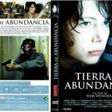 Cine: TIERRA DE ABUNDANCIA - DVD. WIM WENDERS DRAMA 2004. Lote 162542989