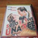 Cine: DVD SOLO SE VIVE UNA VEZ. Lote 162702986