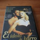 Cine: DVD EL ÍDOLO DE BARRO. Lote 162703241