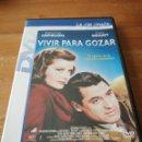 Cine: DVD VIVIR PARA GOZAR. Lote 162703382