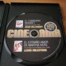 Cine: DVD EL COMISARIO MAIGRET // EL EXTRAÑO AMOR DE MARTA IVERS. Lote 162710284