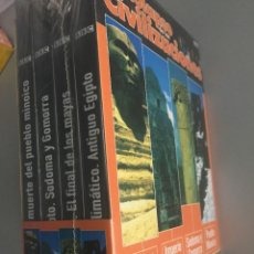 Cine: GRANDES CIVILIZACIONES DEL PASADO, 4 DVDS CON ESTUCHE. BBC. Lote 162771778