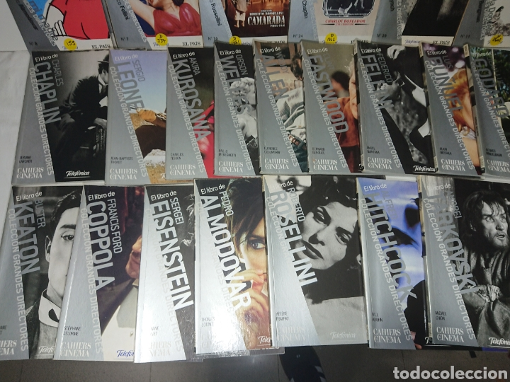Cine: Gran Lote 16 Libros + 15 DVDs Colección Grandes Directores El País - Foto 2 - 162901777