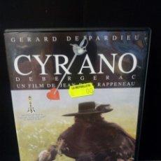 Cine: CYRANO DE BERGERAC DVD. Lote 171347389