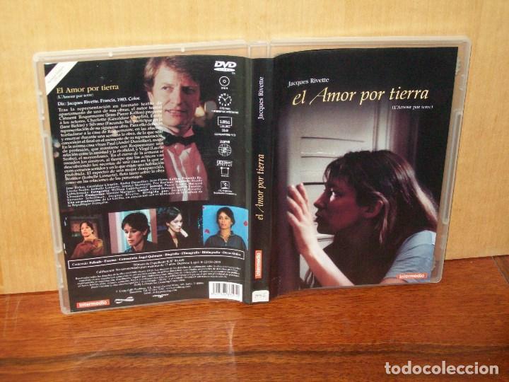 EL AMOR POR TIERRA - JANE BIRKIN - JACQUELINE BISSET - DIRIGIDA POR JACQUES RIVETTE - DVD (Cine - Películas - DVD)