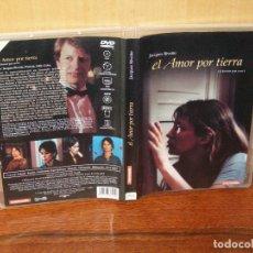 Cine: EL AMOR POR TIERRA - JANE BIRKIN - JACQUELINE BISSET - DIRIGIDA POR JACQUES RIVETTE - DVD. Lote 163083094