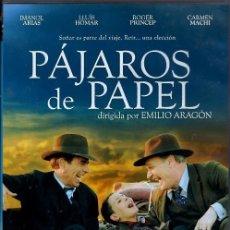 Cine: PAJAROS DE PAPEL DVD (LUIS HOMAR + IMANOL ARIAS) .. VIAJAR ES SOÑAR DESPIERTO.. Lote 163304190