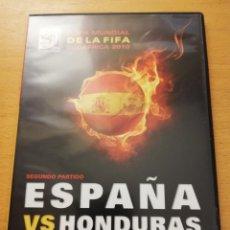 Cine: ESPAÑA VS HONDURAS. SEGUNDO PARTIDO (COPA MUNDIAL DE LA FIFA SUDÁFRICA 2010) DVD. Lote 163422842