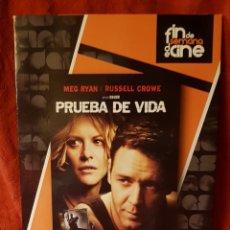 Cine: DVD. PRUEBA DE VIDA.. Lote 163456421