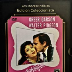 Cine: DVD. LA SEÑORA PARKINGTON. WALTER PIDGEON.GREER GARSON. AGNES MOOREHEAD. DAN DURYEA. TAY GARNETT. Lote 163483174