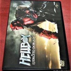 Cinema: DVD - HELLBOY EL EJÉRCITO DORADO - DIR. GUILLERMO DEL TORO. Lote 163524754