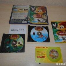 Cine - DVD - BAMBI - EDICION ESPECIAL - 163542346