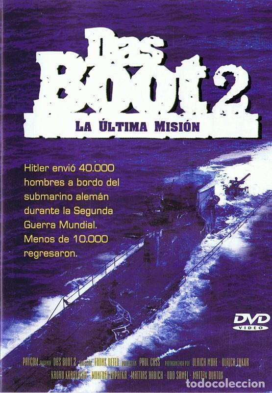 DAS BOOT 2 LA ÚLTIMA MISIÓN (Cine - Películas - DVD)