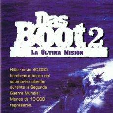 Cine: DAS BOOT 2 LA ÚLTIMA MISIÓN . Lote 163716534
