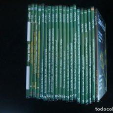 Cine: JARA Y SEDAL 19 DVD'S - EL NUMERO 18 QUE SALE EN LA FOTOGRAFIA NO ESTA, EL DE PERROS DE CAZA TAMPOCO. Lote 163726442