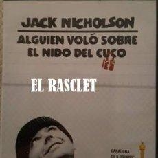 Cine: DVD - ALGUIEN VOLÓ SOBRE EL NIDO DEL CUCO-. Lote 163748578