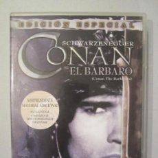 Cine: DVD TRILOGIA CONAN SWARZENEGGER. Lote 163773874
