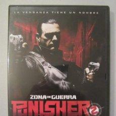 Cine: DVD PUNISHER ZONA DE GUERRA. Lote 163776178