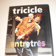 Cine: DVD EL TRICICLE ENTRETRÉS 80 MINUTOS CAJA FINA (SEMINUEVO). Lote 163800310