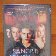 Cine: DVD SANGRE JOVEN - NUEVA, PRECINTADA (CZ). Lote 163818894