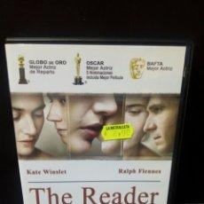 Cine: THE READER-EL LECTOR-DVD. Lote 171347450