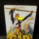 Cine: EL CID DVD CAJA METÁLICA. Lote 163842297
