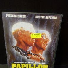 Cine: PAPILLON DVD. Lote 171347523