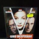 Cine: GIRO INESPERADO DVD. Lote 163849145