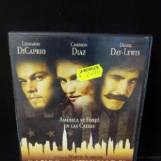 Cine: GANGS OF NEW YORK DVD. Lote 171347605