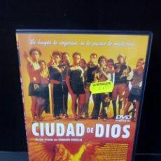 Cine: CIUDAD DE DIOS DVD. Lote 171347799