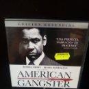 Cine: AMERICAN GANGSTER DVD. Lote 163855864