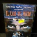 Cine: EL CABO DEL MIEDO DVD. Lote 163863090