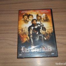 Cine: LAS CRUZADAS DVD ALESSANDRO GASSMAN FRANCO NERO NUEVA PRECINTADA. Lote 163889174