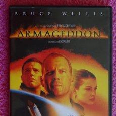 Cine: ARMAGEDDON BRUCE WILLIS MICHAEL BAY PELICULA TOUCHSTONE PICTURES 1998 EDICIÓN ESPECIAL 2 DISCOS. Lote 164026734