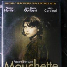 Cine: MOUCHETTE DE ROBERT BERSSON (1967) REMASTERIZADA. VO EN FRANCÉS CON SUBTÍTULOS EN INGLÉS. Lote 164029098