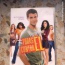 Cine: TODAS CONTRA EL. Lote 164472969