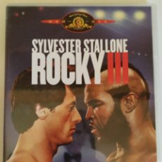 Cine: DVD ROCKY 3 (1982) SYLVESTER STALLONE, MR. T. Lote 164531572