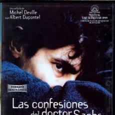 Cine: LAS CONFESIONES DEL DOCTOR SACHS DVD: ..MEDICO RURAL QUE SE CONVIERTE EN CONFIDENTE MORBOSO DE TODOS. Lote 164574898
