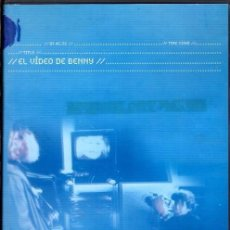 Cine: EL VIDEO DE BENNY DVD (MICHAEL HANEKE) ..ESENCIAL EN LA FILMOGRAFÍA DEL DIRECTOR...Y EN TU VIDEOTECA. Lote 164619406