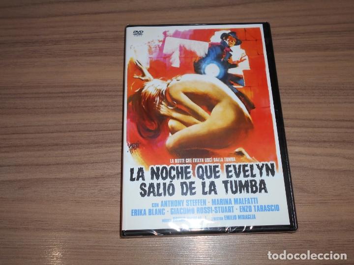 LA NOCHE QUE EVELYN SALIO DE LA TUMBA DVD ANTHONY STEFFEN TERROR NUEVA PRECINTADA (Cine - Películas - DVD)
