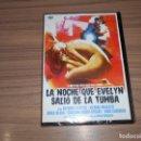 Cine: LA NOCHE QUE EVELYN SALIO DE LA TUMBA DVD ANTHONY STEFFEN TERROR NUEVA PRECINTADA. Lote 164978322