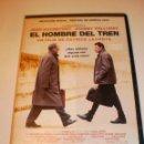 Cine: DVD EL HOMBRE DEL TREN. JOHNNY HALLYDAY. JEAN ROCHEFORT. 92 MINUTOS (BUEN ESTADO). Lote 164765406